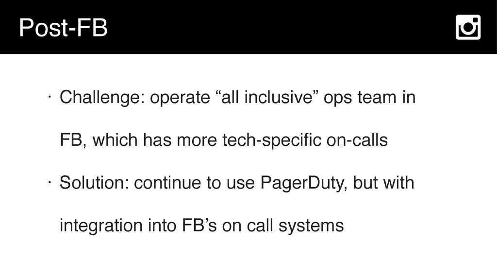 """Post-FB • Challenge: operate """"all inclusive"""" op..."""