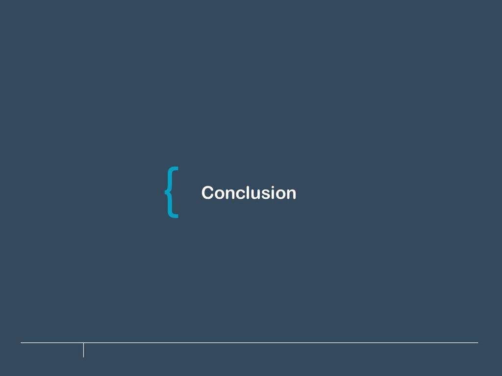 Conclusion \