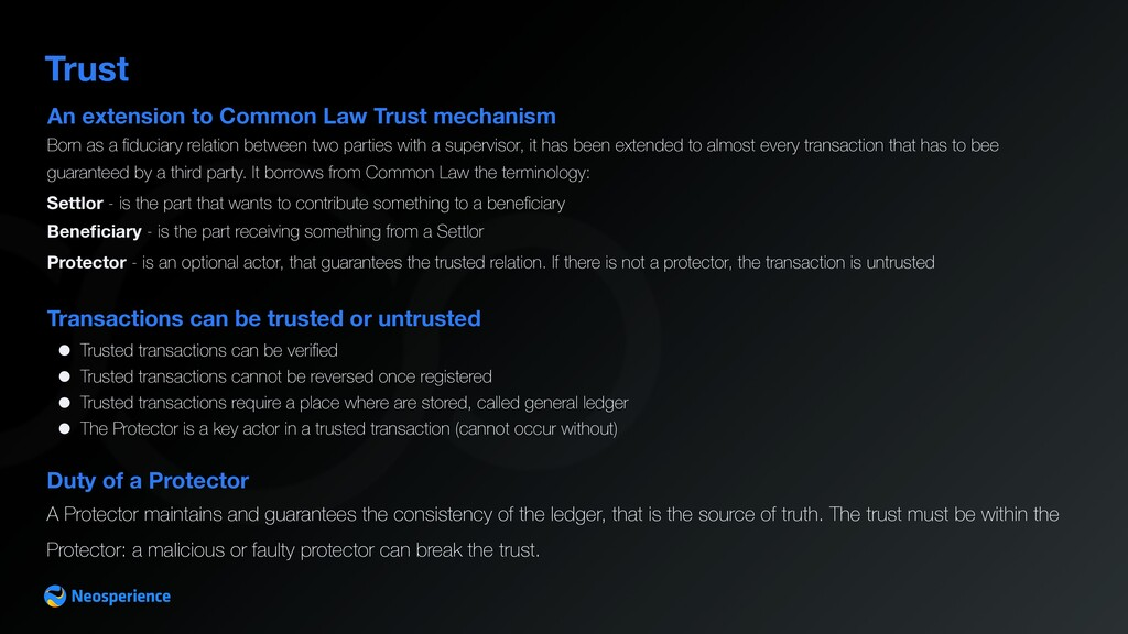An extension to Common Law Trust mechanism Trus...
