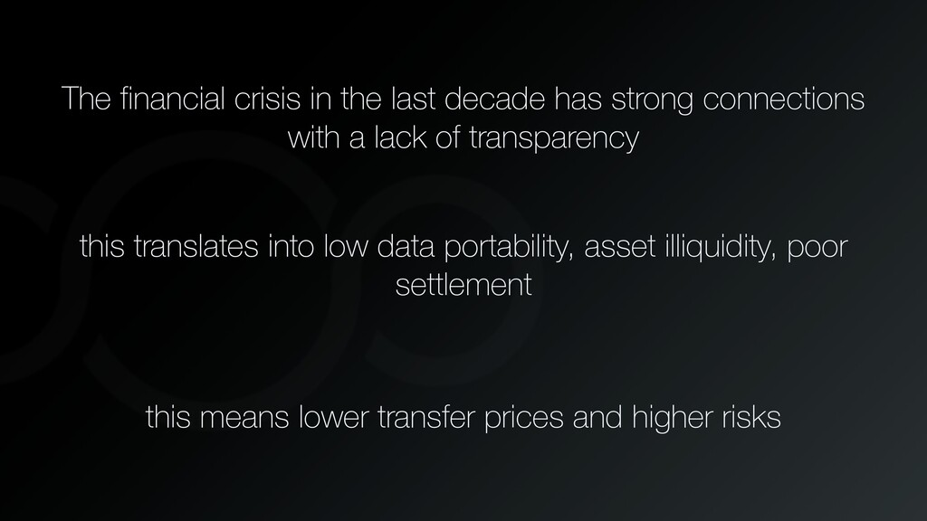 The financial crisis in the last decade has str...