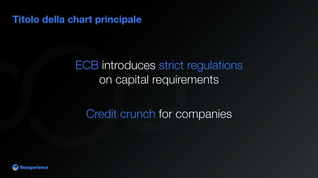Titolo della chart principale ECB introduces st...