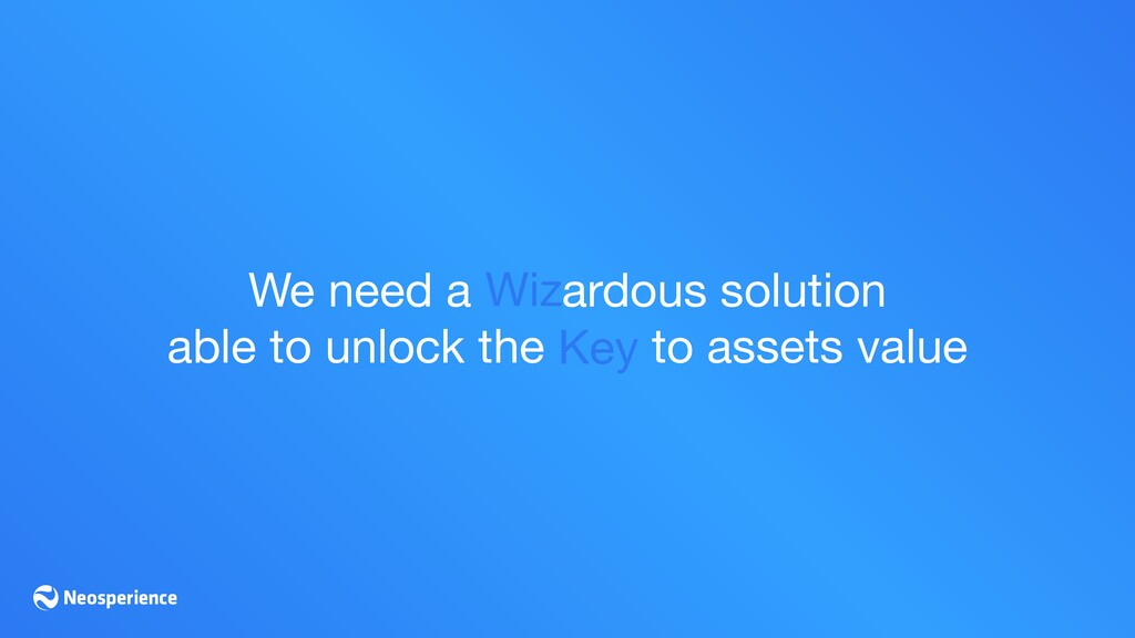 We need a ardous solution  able to unlock the t...