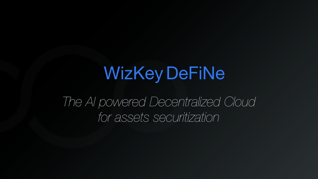 WizKey The AI powered Decentralized Cloud for a...