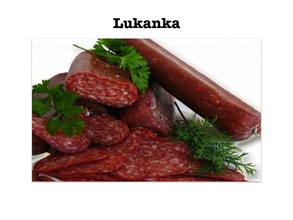 Lukanka
