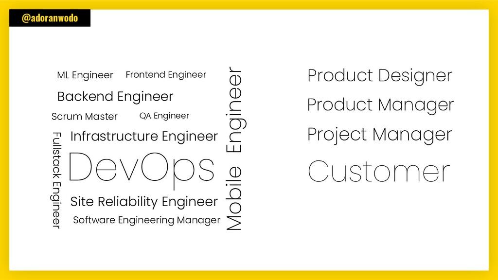 @adoranwodo Frontend Engineer Backend Engineer ...