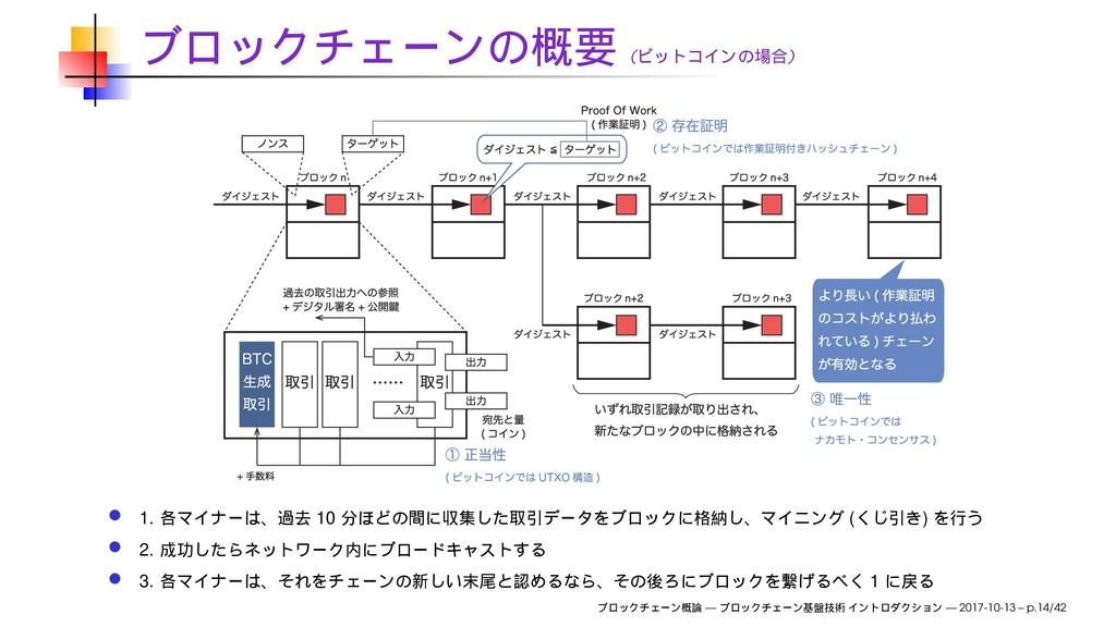( ) 1. 10 ( ) 2. 3. 1 — — 2017-10-13 – p.14/42