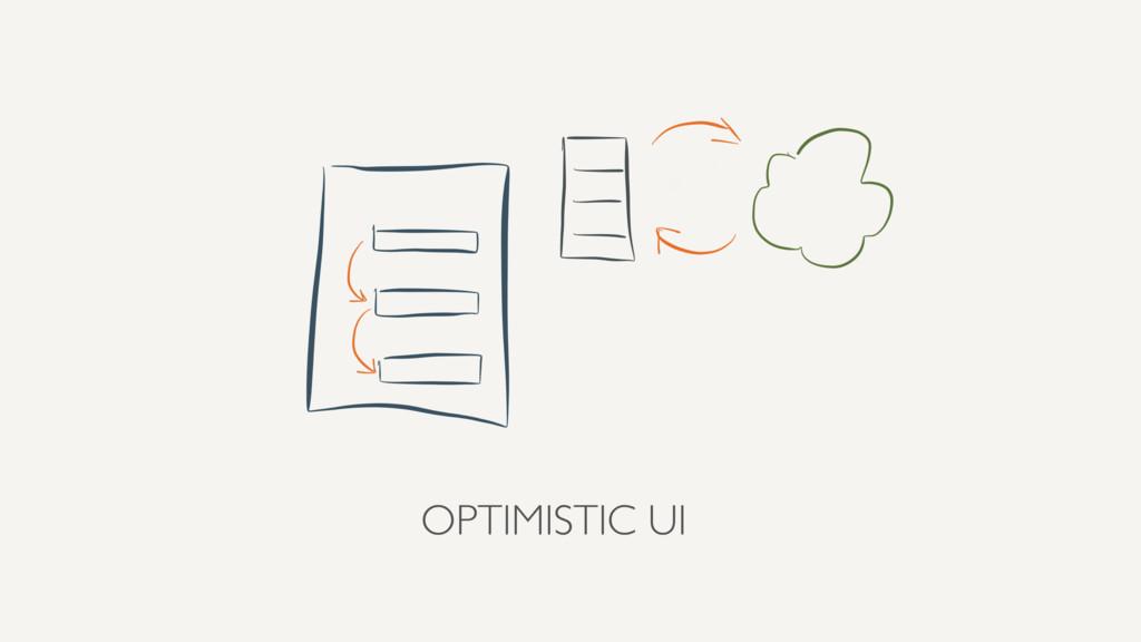 OPTIMISTIC UI