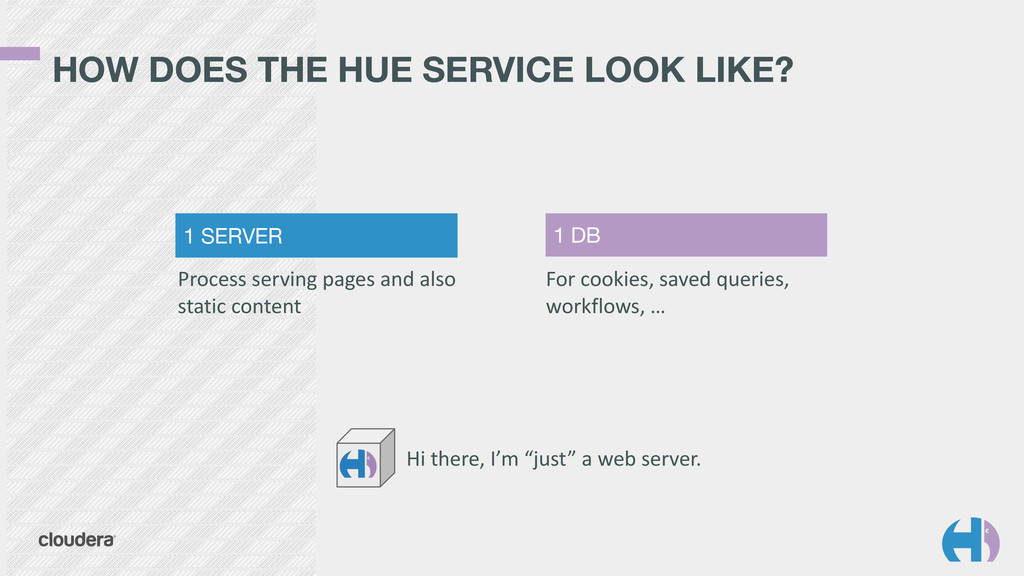 HOW DOES THE HUE SERVICE LOOK LIKE? Process	