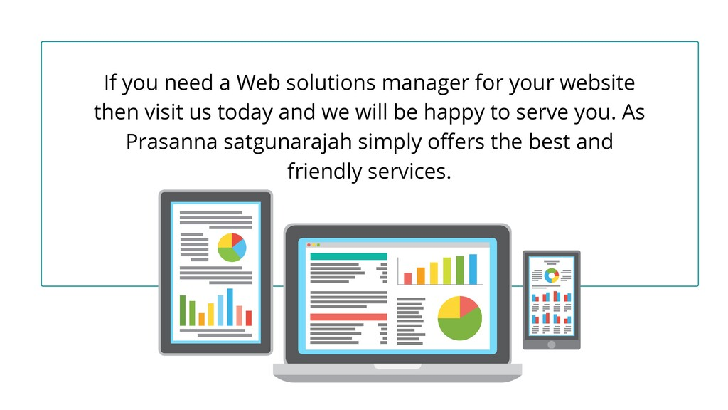 If you need a Web solutions manager for your we...