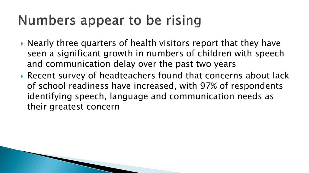  Nearly three quarters of health visitors repo...