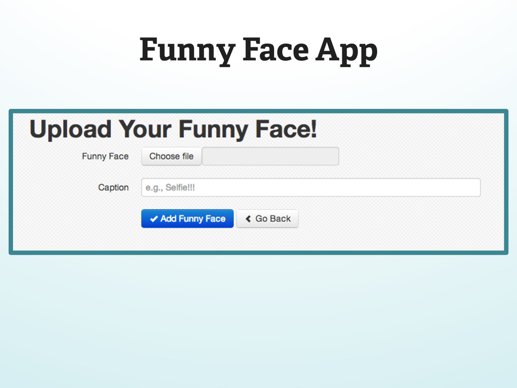 Funny Face App