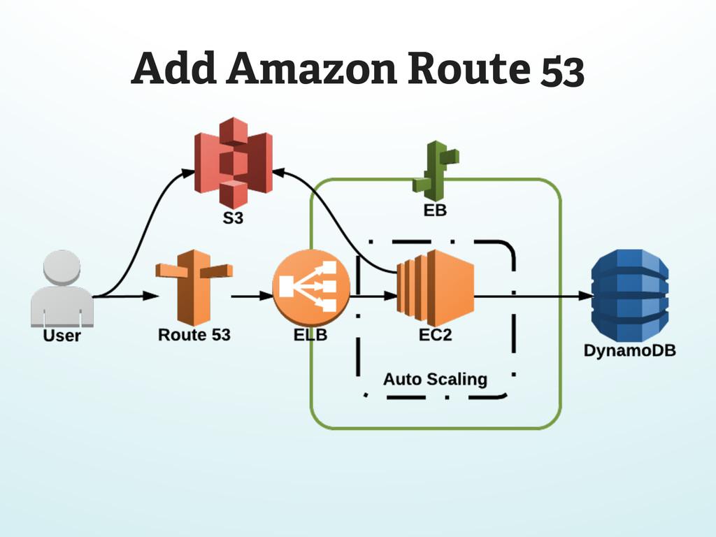 Add Amazon Route 53