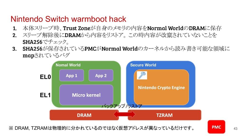 Nintendo Switch warmboot hack 1. 本体スリープ時、Trust ...