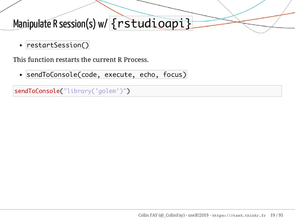 Manipulate R session(s) w/ {rstudioapi} restart...