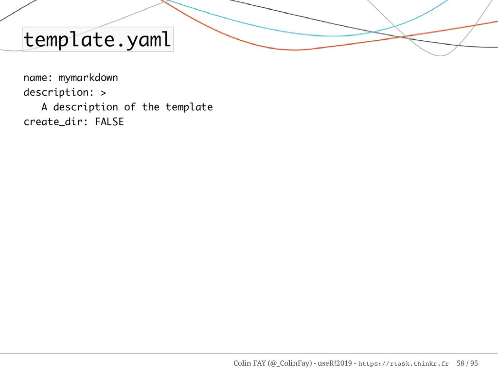 template.yaml name: mymarkdown description: > A...