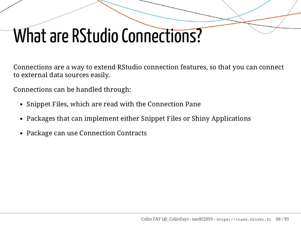 What are RStudio Connections? Connections are a...