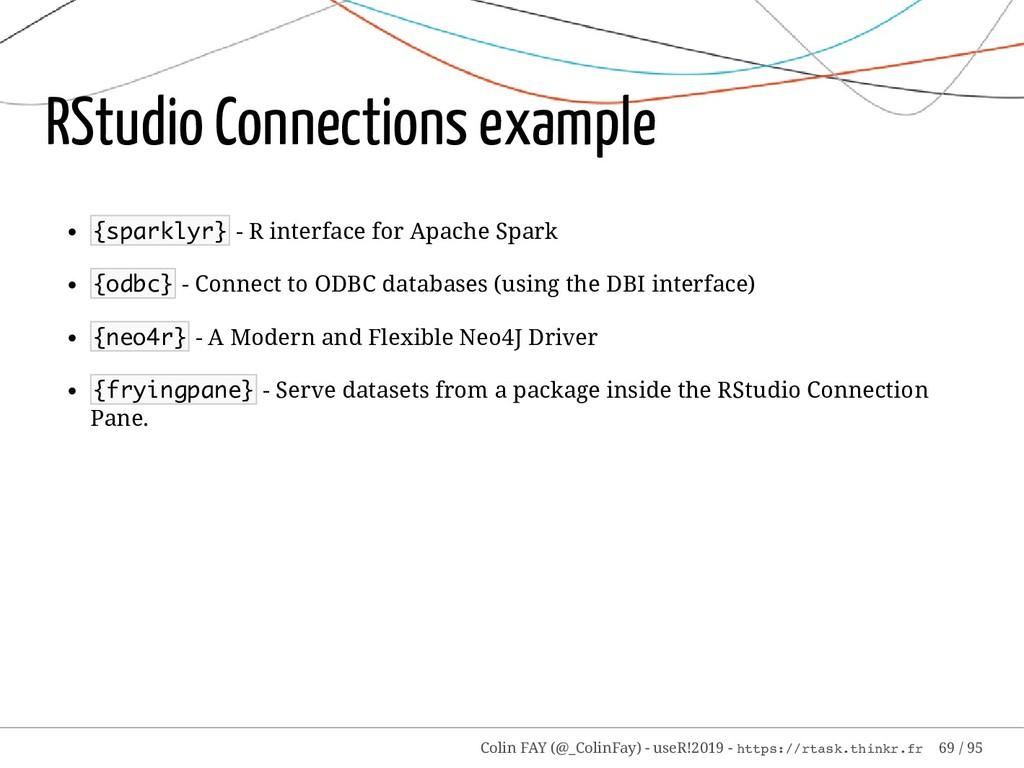 RStudio Connections example {sparklyr} - R inte...