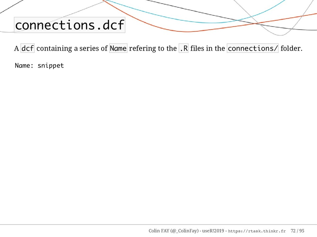 connections.dcf A dcf containing a series of Na...