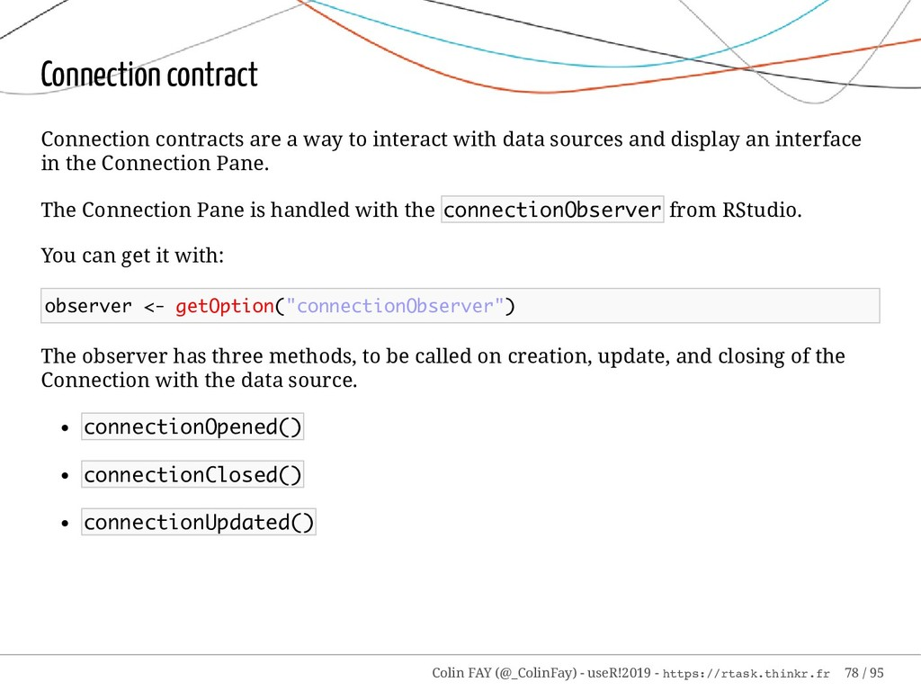 Connection contract Connection contracts are a ...