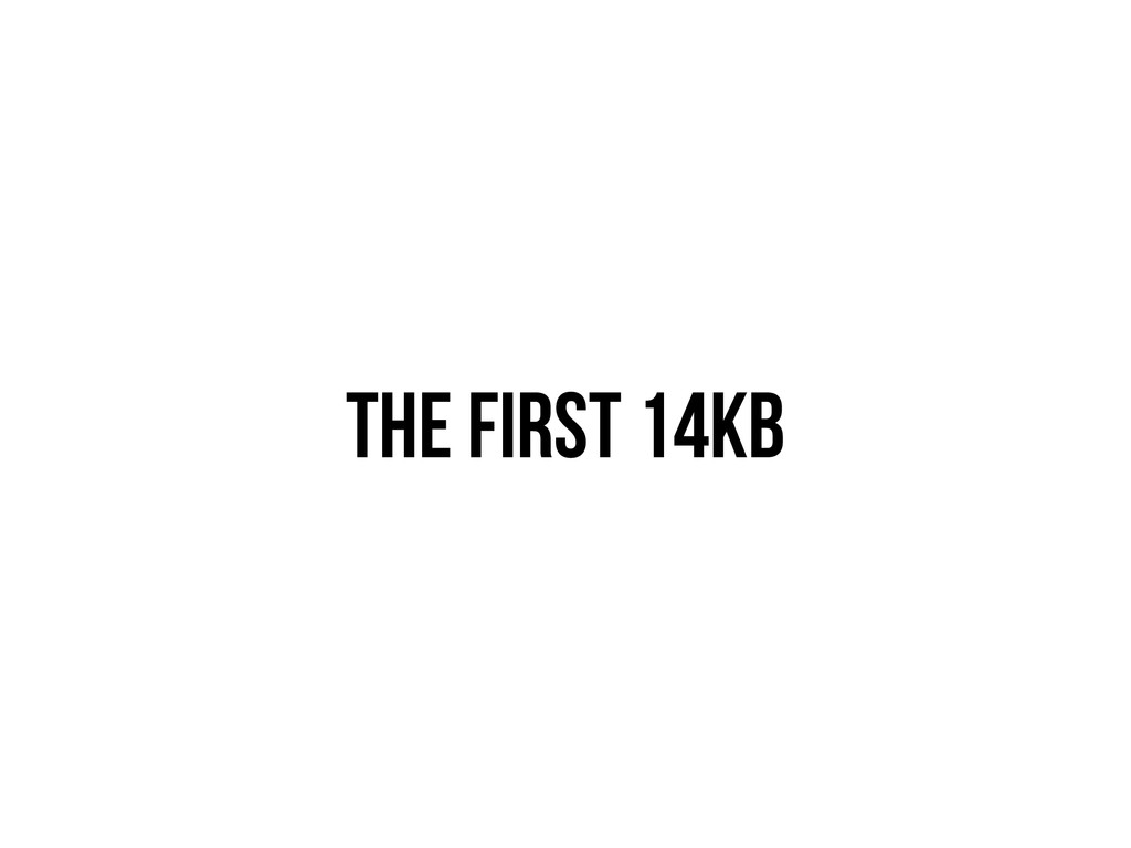 THE FIRST 14KB