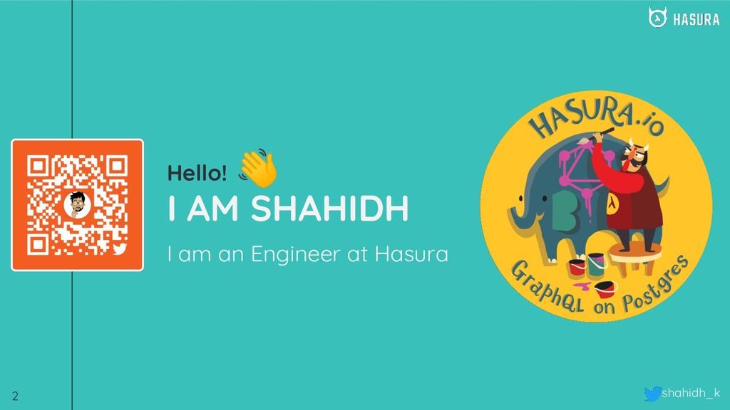 shahidh_k Hello! I AM SHAHIDH I am an Engineer ...