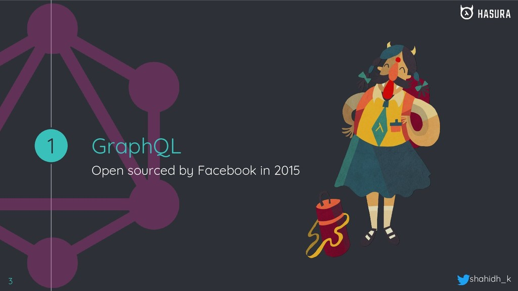 shahidh_k GraphQL Open sourced by Facebook in 2...
