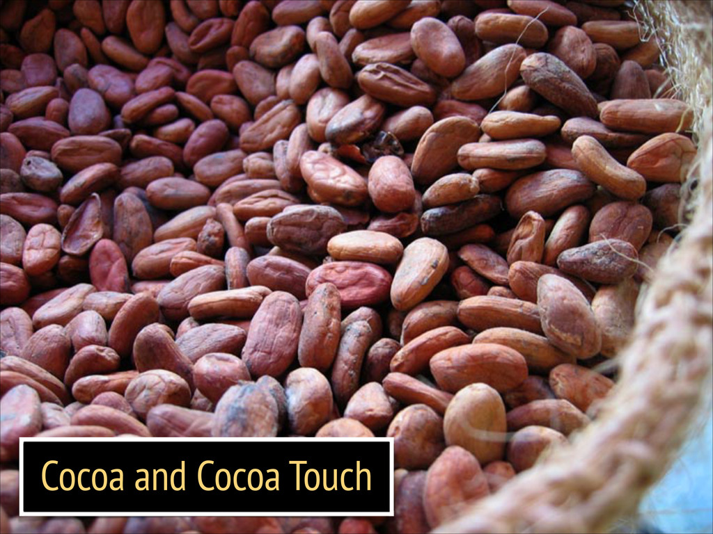 Cocoa and Cocoa Touch