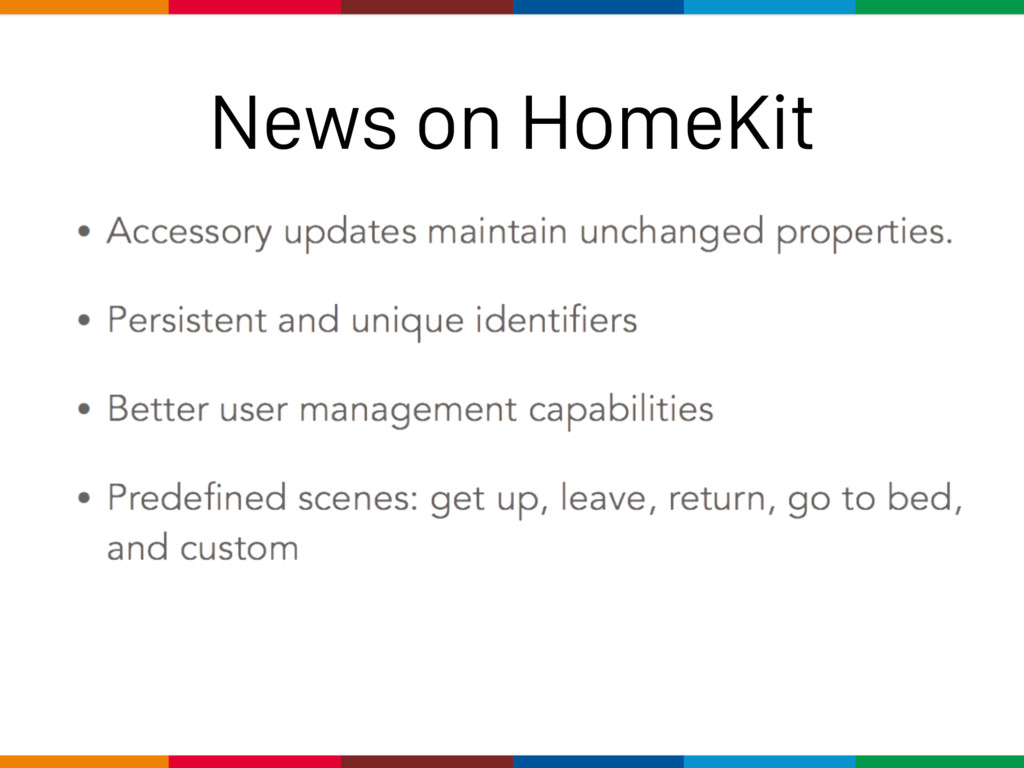 News on HomeKit