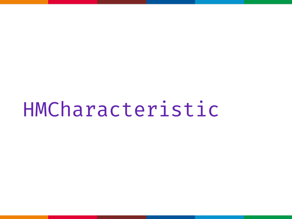 HMCharacteristic