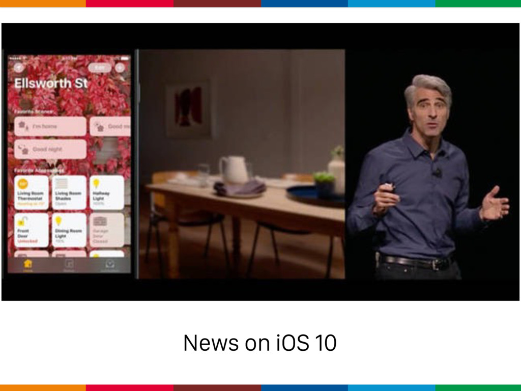 News on iOS 10