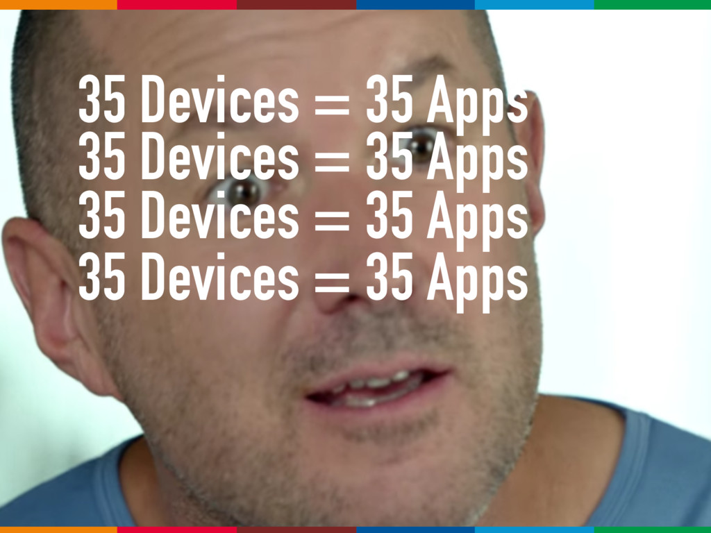 35 Devices = 35 Apps 35 Devices = 35 Apps 35 De...