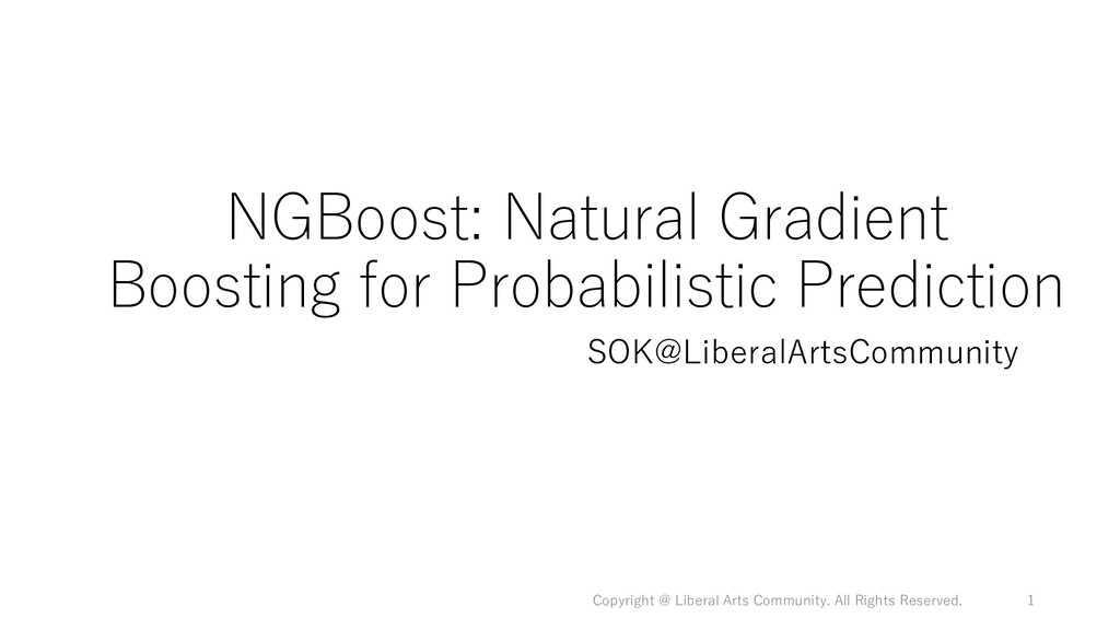NGBoost: Natural Gradient Boosting for Probabil...