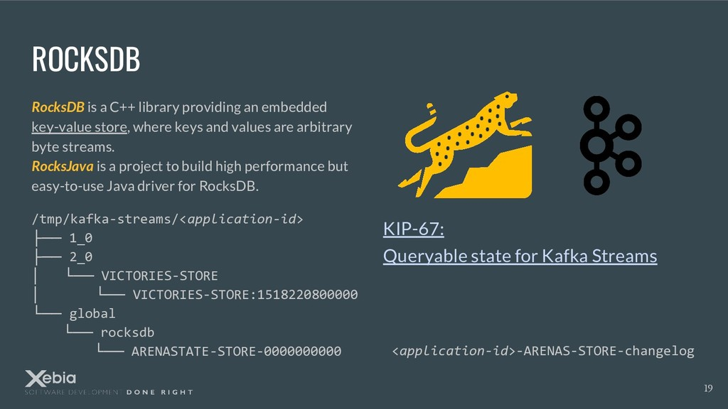 ROCKSDB RocksDB is a C++ library providing an e...