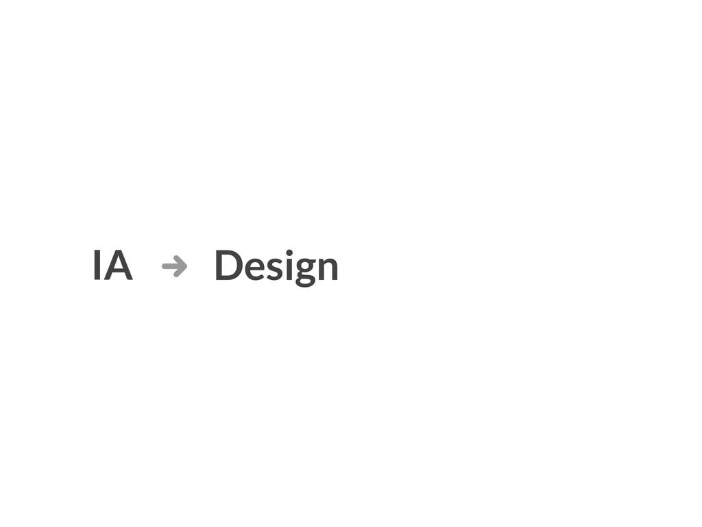 IA Design