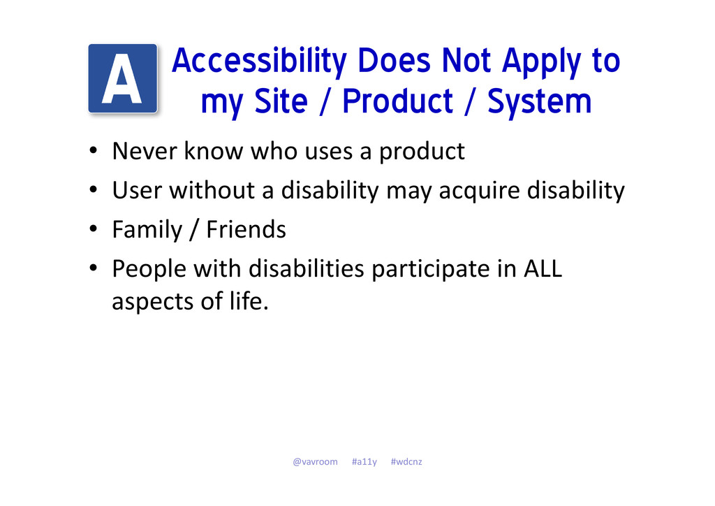 Accessibility Does Not Apply to my Site / Produ...