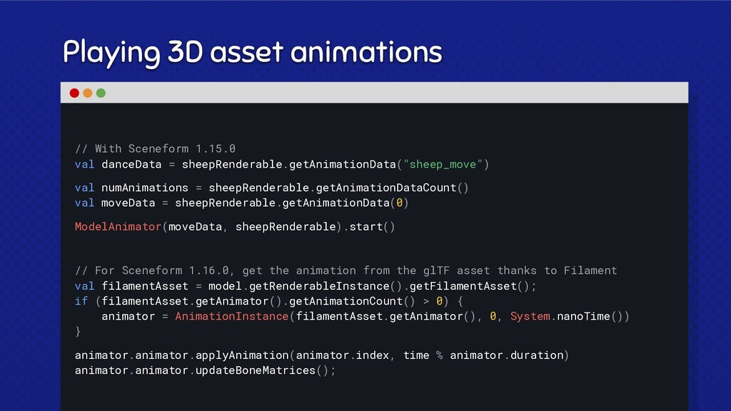 Playing 3D asset animations // With Sceneform 1...