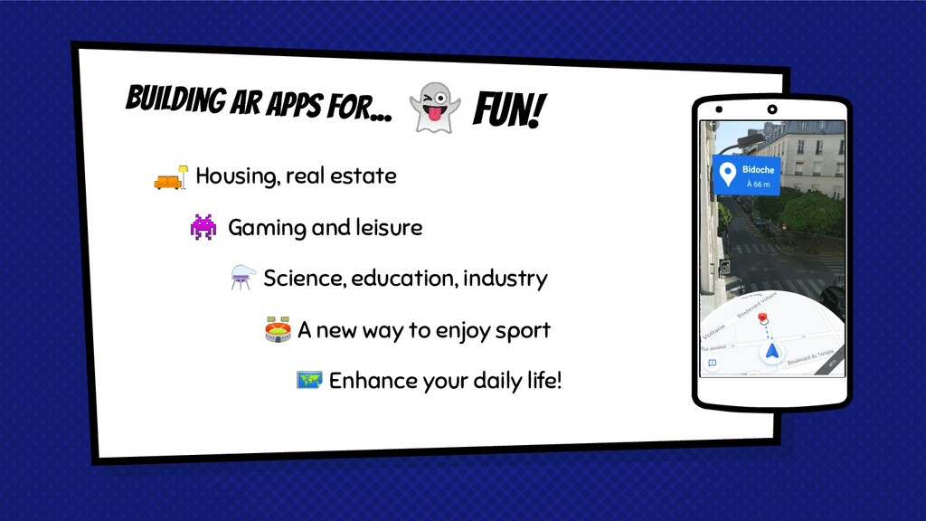Building Ar APPS FOR... Place your screenshot h...