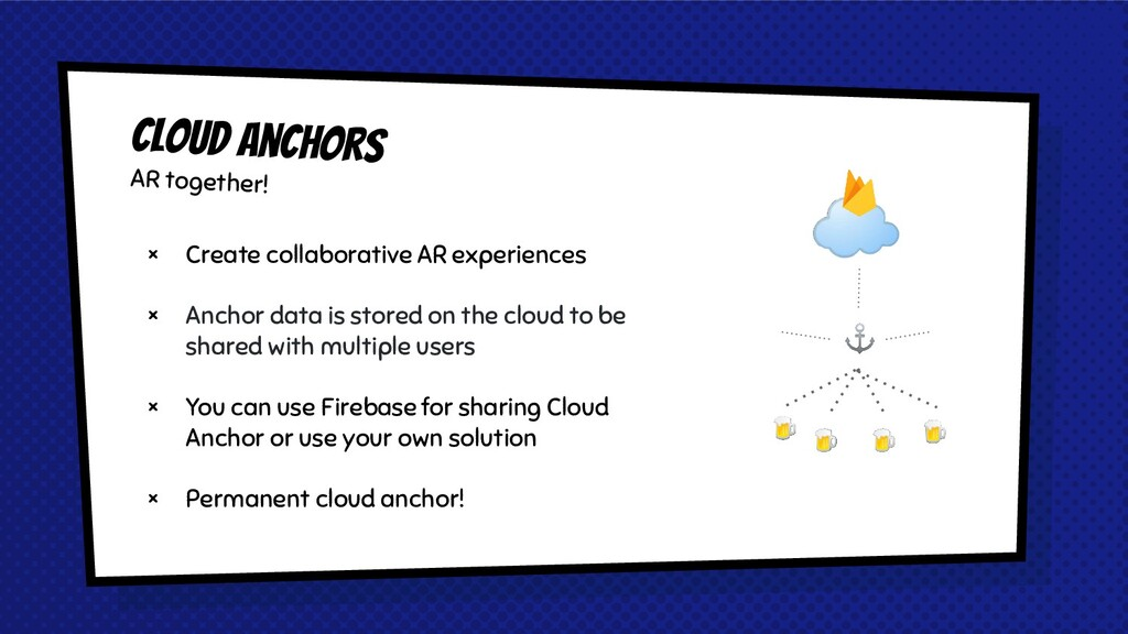 ☁ × Create collaborative AR experiences × Ancho...