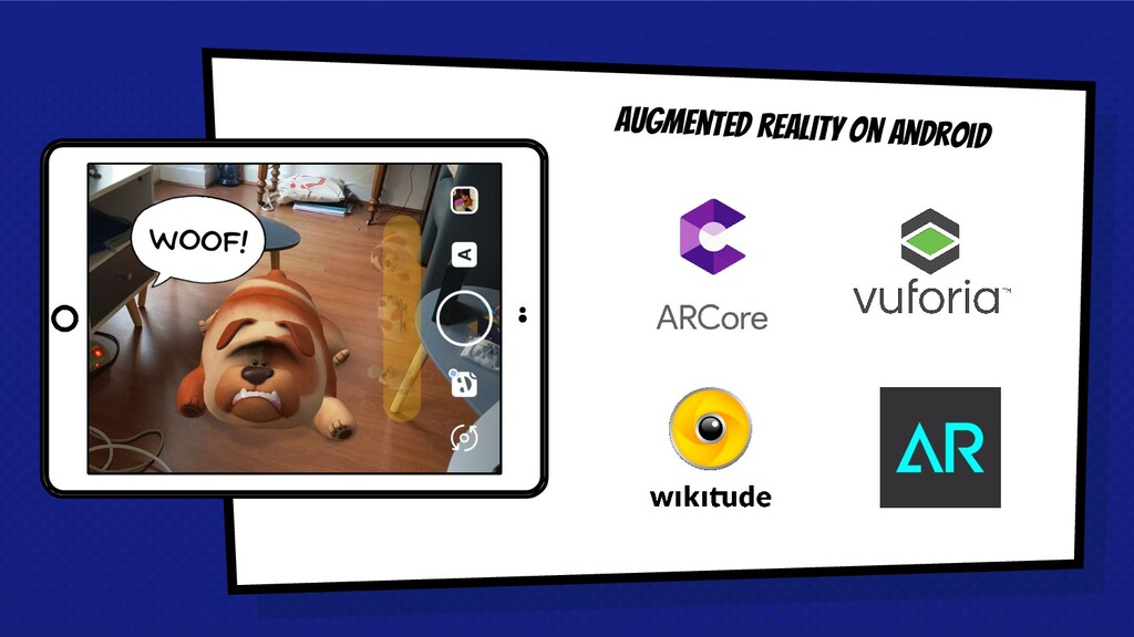 Place your screenshot here Augmented reality on...