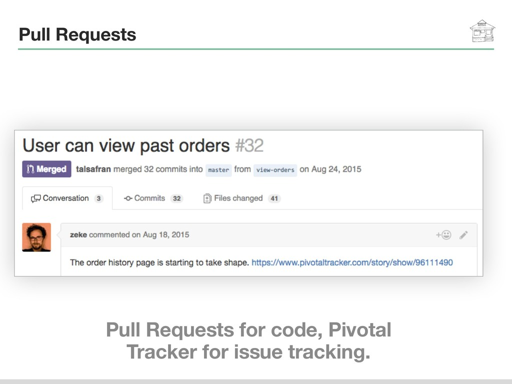 Pull Requests Pull Requests for code, Pivotal T...