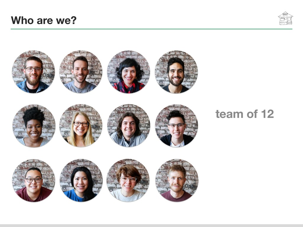 Who are we? team of 12