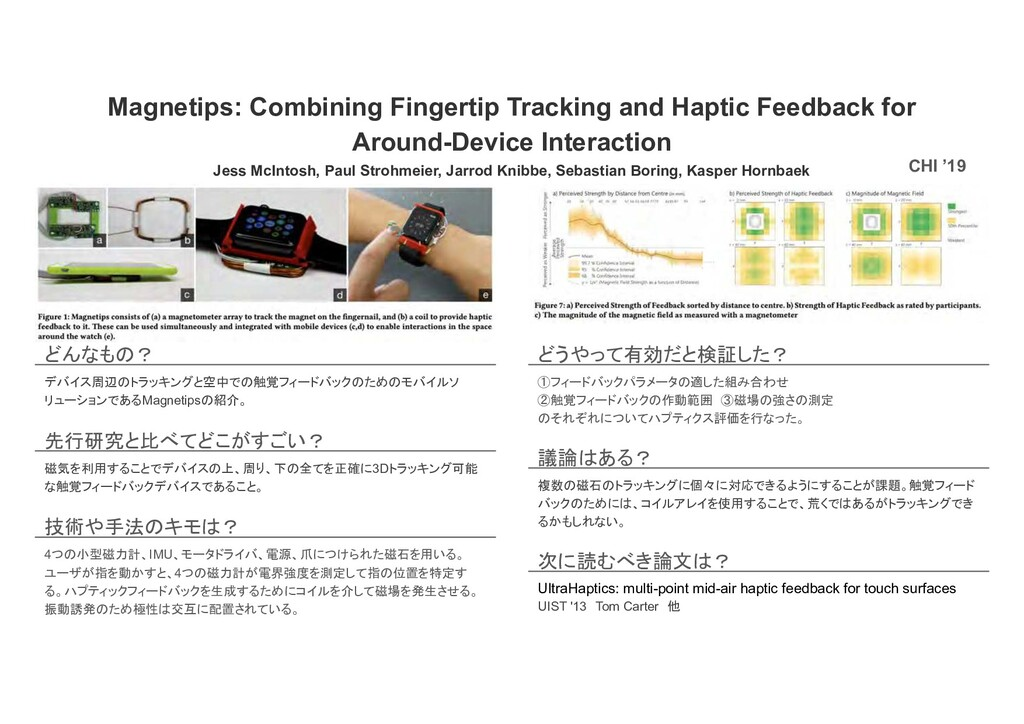 Magnetips: Combining Fingertip Tracking and Hap...