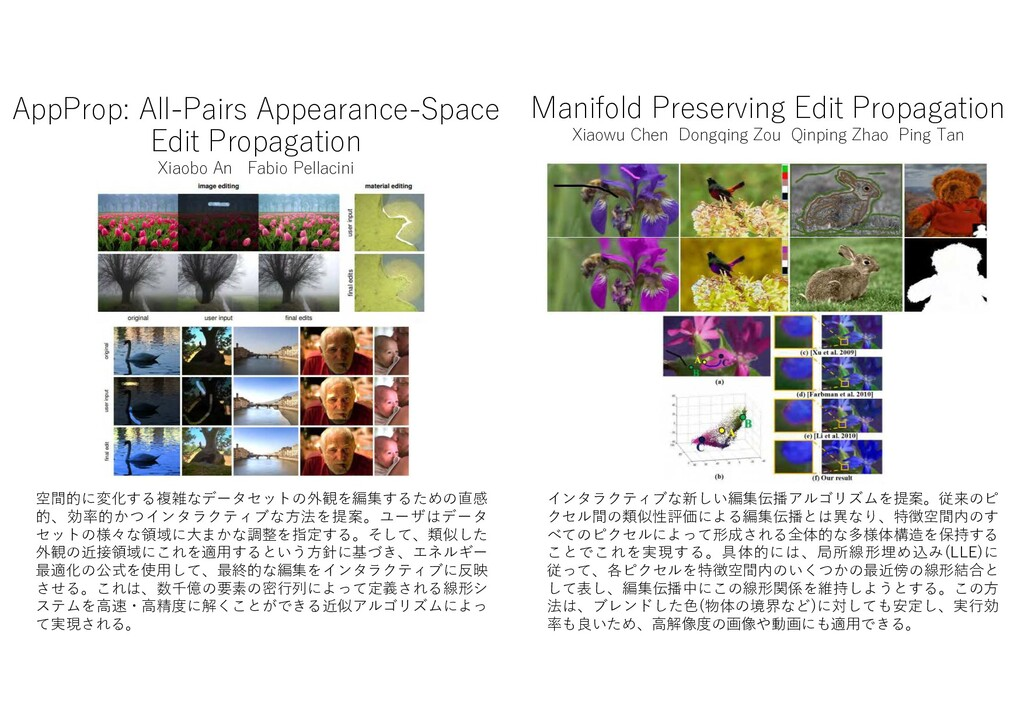 AppProp: All-Pairs Appearance-Space Edit Propag...