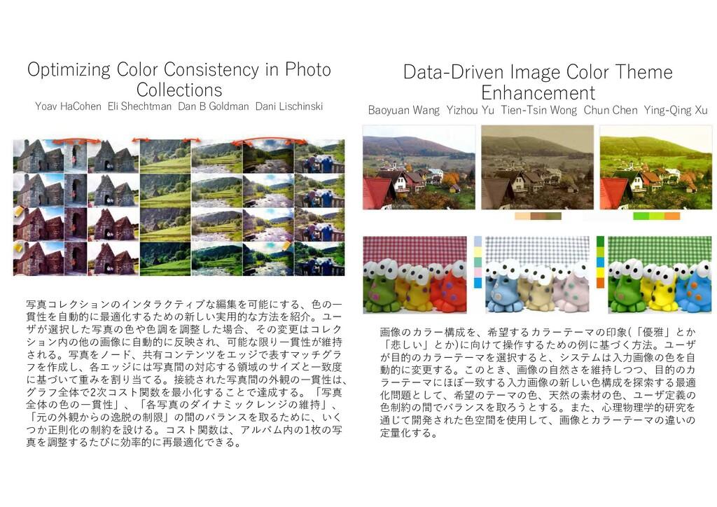 Optimizing Color Consistency in Photo Collectio...