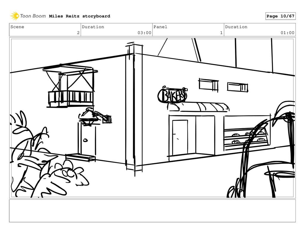 Scene 2 Duration 03:00 Panel 1 Duration 01:00 M...