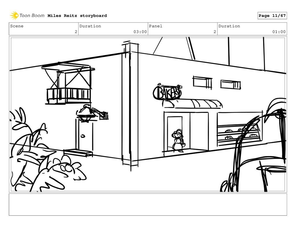 Scene 2 Duration 03:00 Panel 2 Duration 01:00 M...