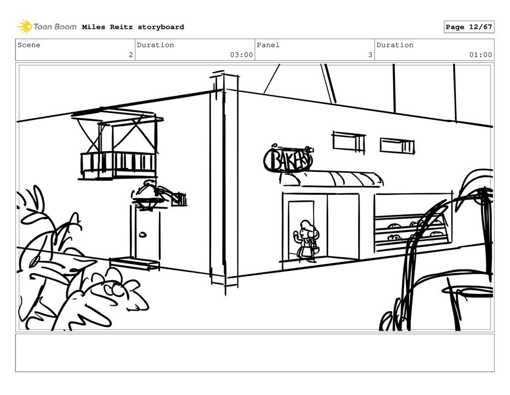Scene 2 Duration 03:00 Panel 3 Duration 01:00 M...