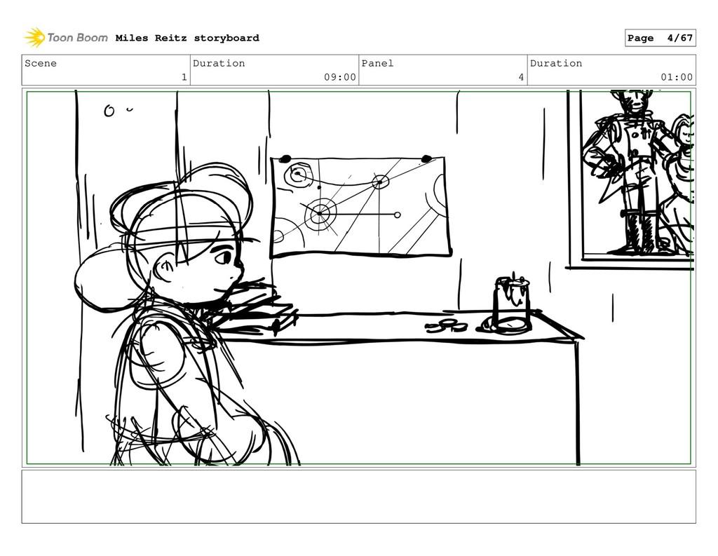 Scene 1 Duration 09:00 Panel 4 Duration 01:00 M...