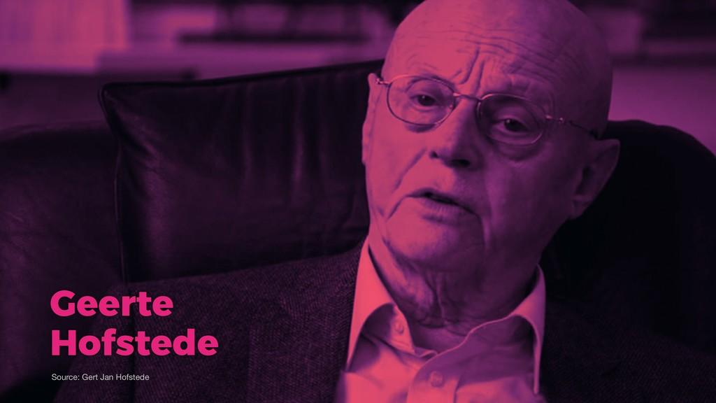 Geerte Hofstede Source: Gert Jan Hofstede