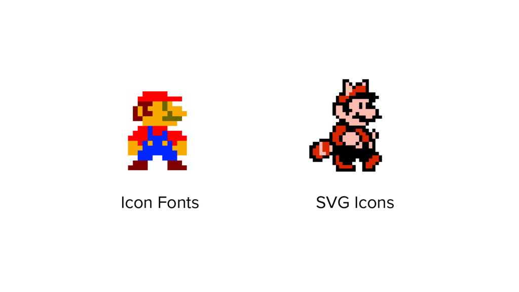 Icon Fonts SVG Icons